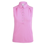 Daily Sports Majken Aurora Pink Sleeveless Polo