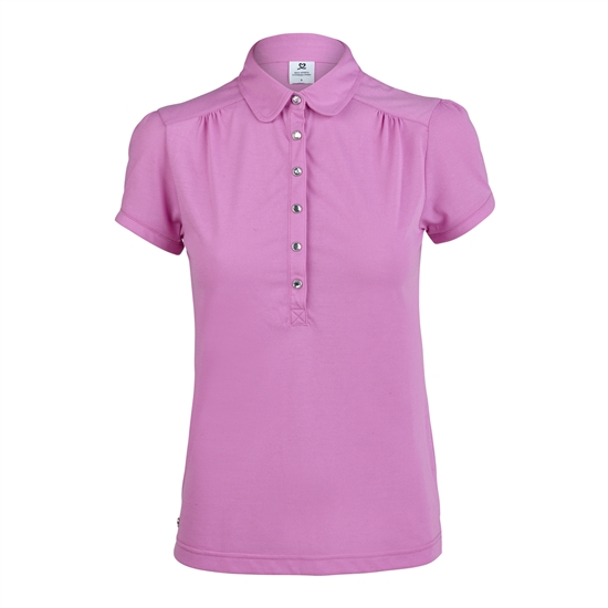 Daily Sports Majken Aurora Pink Cap Sleeve Polo