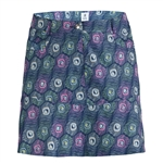 "Daily Sports Peacock 17¾"" Navy Wind Skort"