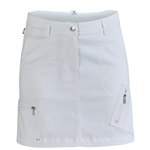 "Daily Sports Emma 17.5"" White Golf Skort"