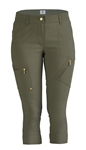 Daily Sports Emma Khaki Golf Capri