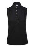 Daily Sports Majken Black Sleeveless Polo
