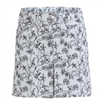 Daily Sports Aniara White Golf Skort