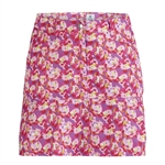 Daily Sports Paeonia Tomato Wind Skort