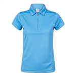Daily Sports Macy Cap Sleeve Golf Polo - Heaven