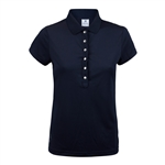 Daily Sports Mindy Cap Sleeve Polo - Navy