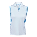 Daily Sports Atlanta Sleeveless Polo - Heaven