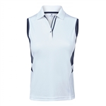 Daily Sports Atlanta Sleeveless Polo - Navy