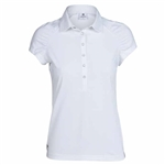 Daily Sports Ariana Pleated Sleeve Polo - White