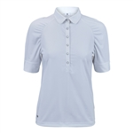 Daily Sports Ariana Pleated Half Sleeve Polo - White