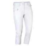 Daily Sports Miracle Highwater Cropped Golf Pant - Pearl