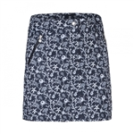 Daily Sports Black Coral Wind Golf Skort
