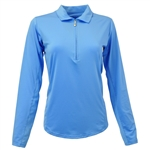 SanSoleil SunGlow UV50 Cornflower Long Sleeve Top