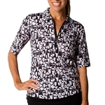 SanSoleil SolCool UV50 Tops - Last Call Black