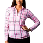 SanSoleil SolCool UV50 Tops -Westport Pink