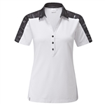 PING Willow Short Sleeve White Polo