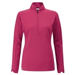 PING Melrose Long Sleeve Red Bud Golf Top
