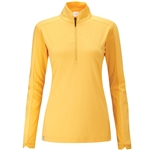 PING Melrose Long Sleeve Sunset Gold Golf Top