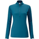 PING Melrose Long Sleeve Teal Golf Top