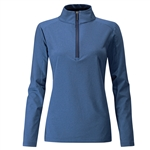 PING Astrid Half-Zip Mid-Layer Pullover - Cobalt Marl