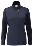 PING Maya Full Zip Active Jacket - Navy