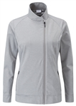 PING Maya Full Zip Active Jacket - Silver Marl