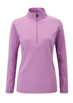 PING Carmel 1/2 Zip Stretch Pullover - Berry Marl