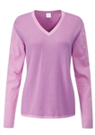 PING Imogen V-Neck Sweater - Lilac/Berry