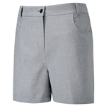 PING Paloma Heathered Golf Short - Ash Marl