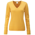 PING Bonnie Knit Merino Sweater - Sunset Gold