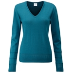 PING Bonnie Knit Merino Sweater - Teal