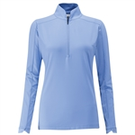 PING Melrose 1/2 Zip Top - Palace Blue