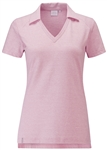 PING Beau Short Sleeve Golf Polo - Hot Pink