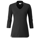 PING Cora 3/4 Sleeve Top - Black