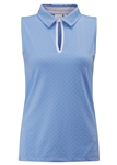 PING Eliza Sleeveless Polo -  Palace Blue