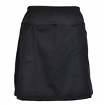 B-Skinz Black Golf & Tennis Skort