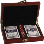 Kirk & Matz Card & Dice Set