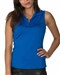 Chase54 Cosmo Sleeveless Polo - Cobalt