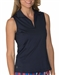 Chase54 Cosmo Sleeveless Polo - Navy