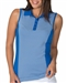 Chase54 Embark Sleeveless Polo - Cobalt