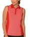 Chase54 Embark Sleeveless Polo - Scarlet
