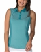 Chase54 Embark Sleeveless Polo - Teal