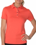 Chase54 Leisure Short Sleeve Polo - Spiced Coral