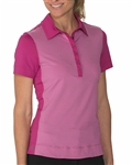 Chase54 Lounge Short Sleeve Polo - Ruby