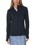 Chase54 Pursuit Mockneck Pullover - Navy