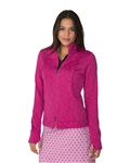 Chase54 Zip Up Ruby Fleece Jacket