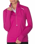 Chase54 Circuit Wind Pullover - Ruby
