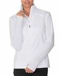 Chase54 Circuit Wind Pullover - White