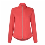 Chase54 Glamour Lined Wind Jacket - Spiced Coral