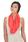 Chase54 Ladies Payton Infinity Scarf- Spiced Coral | Golf4Her